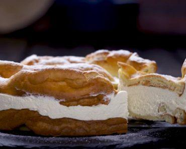 Polish Carpathian Mountain Cream Cake