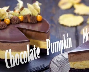 How to make Chocolate Pumpkin Mousse Cake