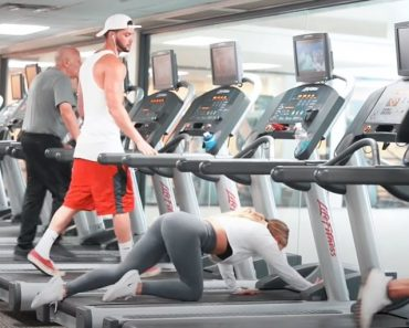 Funny Girl Gym Prank - Weird Workouts In the Gym Prank - Funny video 2021