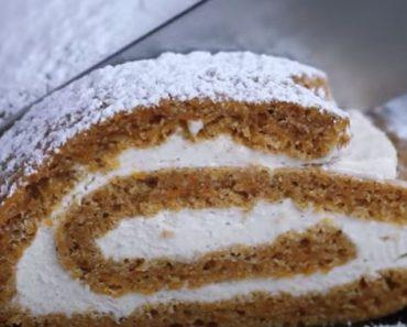 Carrot Cake Roll Recipe