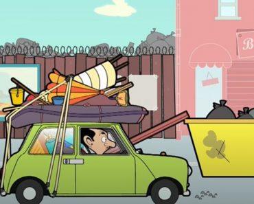 Funny Mr Bean Running on Empty - Mr Bean Cartoon for kids