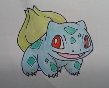How to Draw Bulbasaur from Pokemon Step by Step