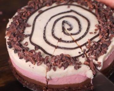 Raw Vegan Neapolitan Cake Recipe