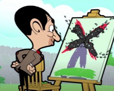 Bean The ARTIST! - Funny mr Bean cartoon for kids