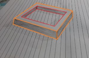 How to draw a 3D floating frame - 3D Trick Art on paper