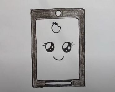 How to draw a cute Phone Step by Step