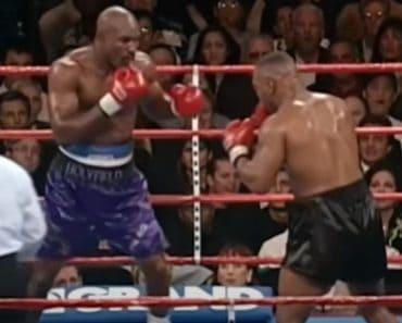 Mike Tyson (USA) vs Evander Holyfield (USA)
