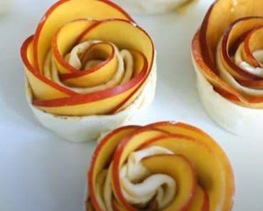 Nectarine Roses Recipe