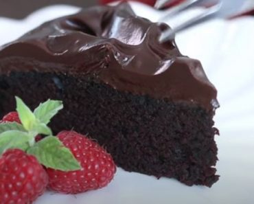 Crazy Cake with Chocolate Ganache Recipe