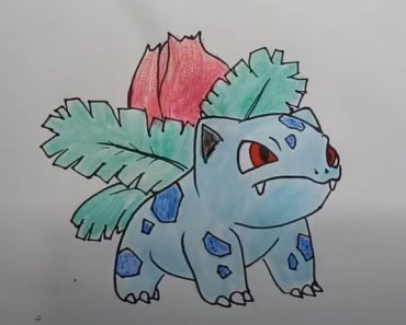 How to draw ivysaur from Pokemon