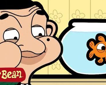 Funny Bean's FISH - Mr Bean Cartoon for kids